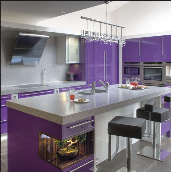 Currier Kitchens, Purple shoudl be an accent color