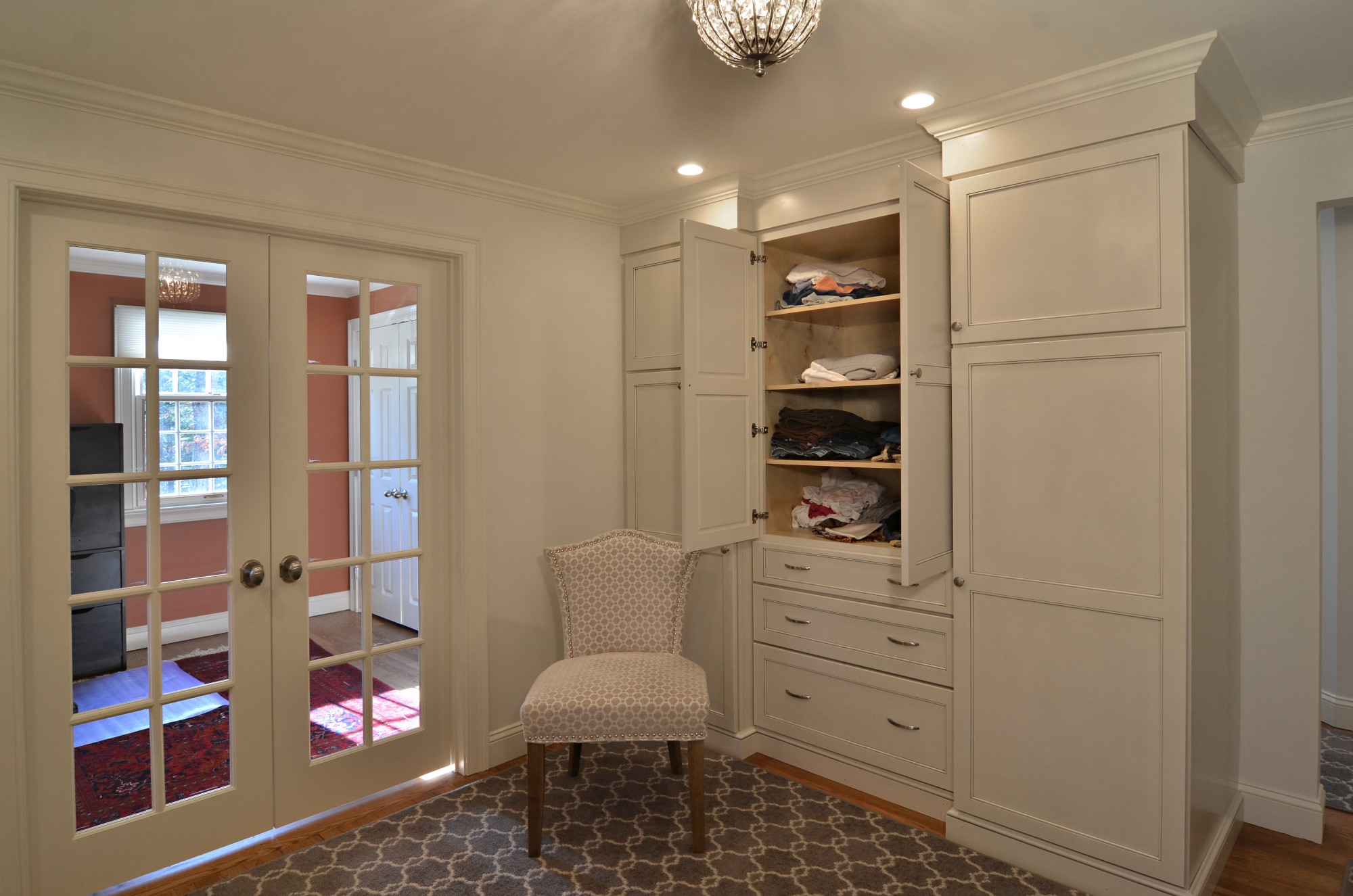 storybrook closet shelves | currier kitchens