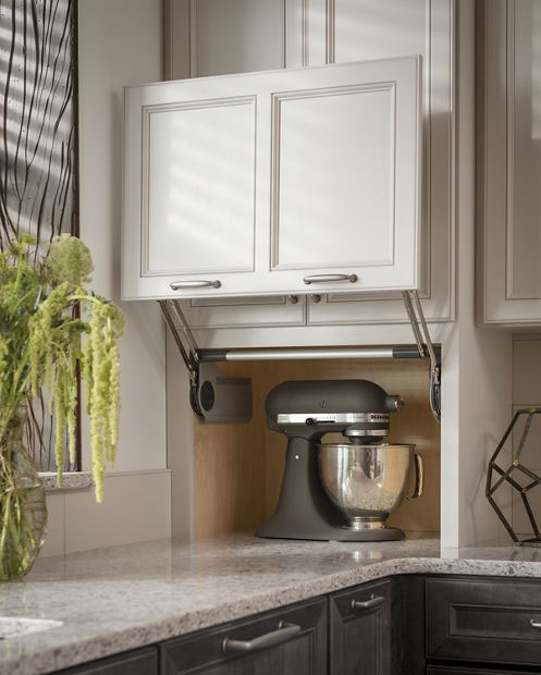 Kitchen Garage Cabinets: Currier Kitchens